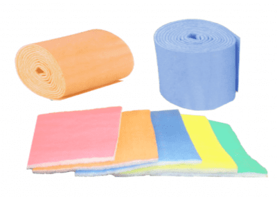 Poly pads, rolls and rings